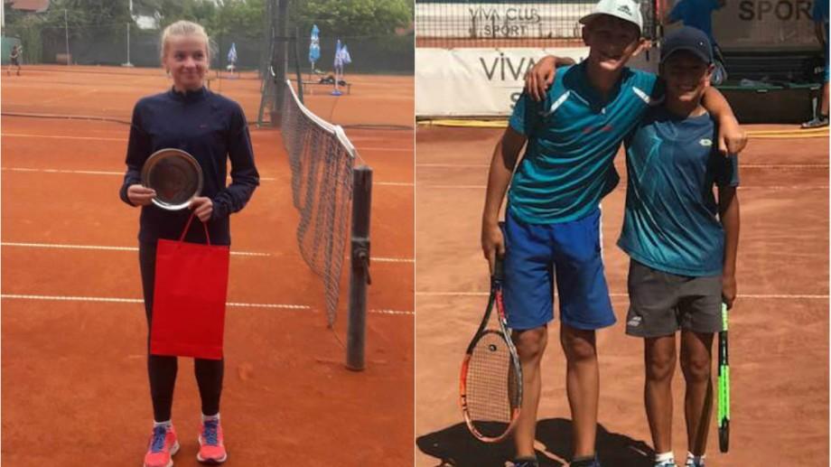 Ilie Cazac și Anghelina Mocanu s-au calificat în sferturile de finală ale turneului internațional Viccourt Cup by Babolat