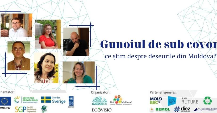 Să vorbim despre gunoiul de sub covor. Participă la o discuție publică despre deșeurile din Moldova