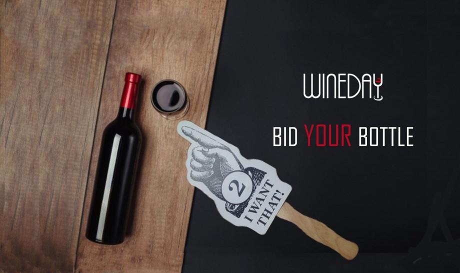 Prima sticlă licitată de proiectul Wineday conține semnăturile a patru persoane influente din Moldova. De la cât începe licitația