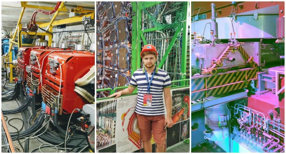 (foto) Un student de la UTM povestește cum e să studiezi fizica la unul dintre cele mai mari laboratoare din lume