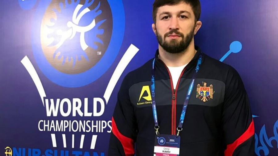 Luptătorul Georgii Rubaev a ocupat locul 5 la Campionatul Mondial din Kazahstan