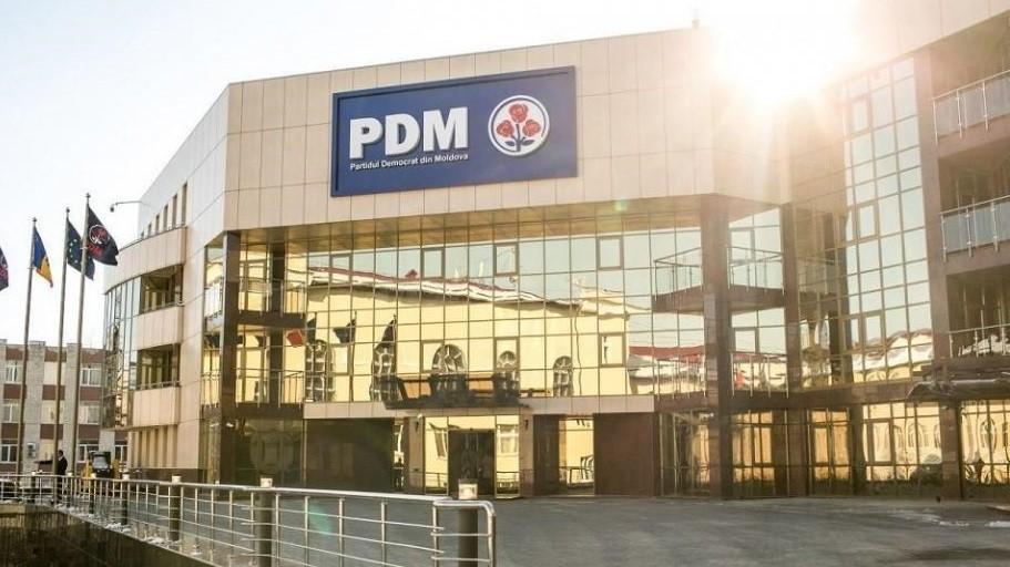 """Partidul Democrat din Moldova își schimbă """"casa"""". Formațiunea politică se întoarce la sediul vechi"""