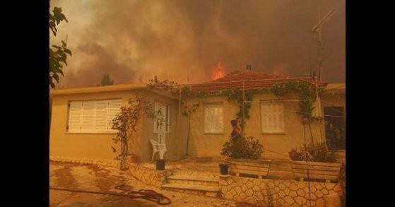 Incendiu de vegetație în Grecia. Peste 300 de oameni au fost evacuați