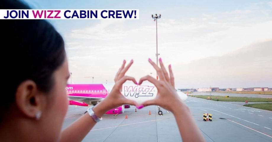 În lunile septembrie și octombrie, Wizz Air recrutează însoțitori și însoțitoare de bord la Chișinău