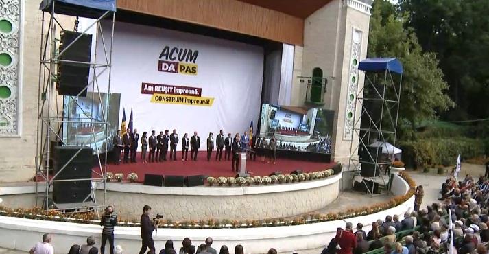 """(video live) """"Andrei Năstase l-a învins pe Al Capone de Grozești"""". Lansarea în campanie electorală a Blocului ACUM"""