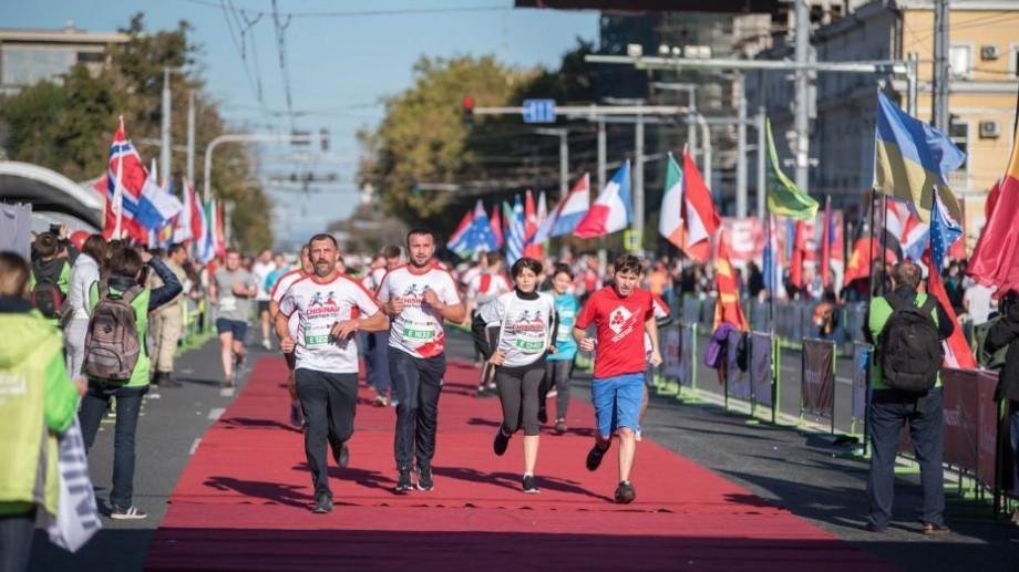 (hartă) Ce străzi din Capitală vor fi blocate duminică, 29 septembrie, ziua Maratonului Internațional Chișinău