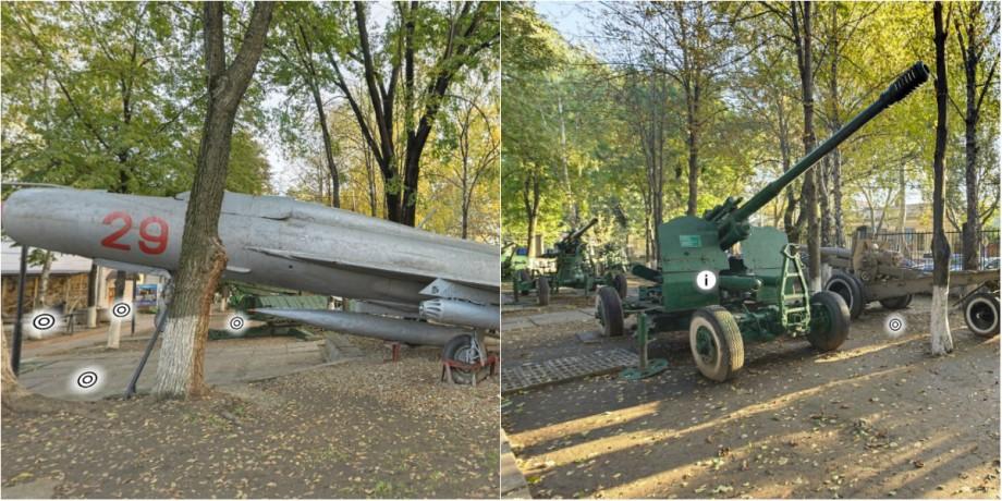 (foto) Ghidul #diez. Cunoaște istoria Muzeului Militar din Chișinău