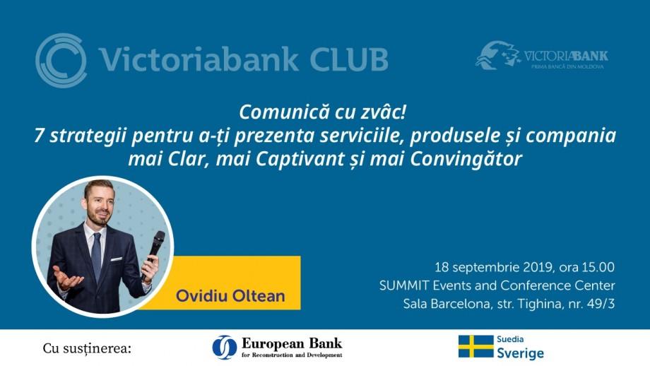 Un nou sezon al evenimentelor Victoriabank CLUB