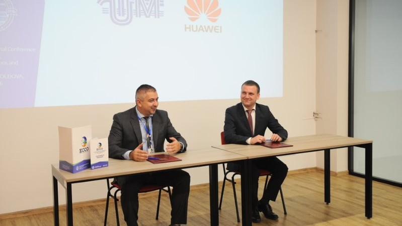 În cadrul Universității Tehnice a Moldovei va fi deschisă Academia Huawei