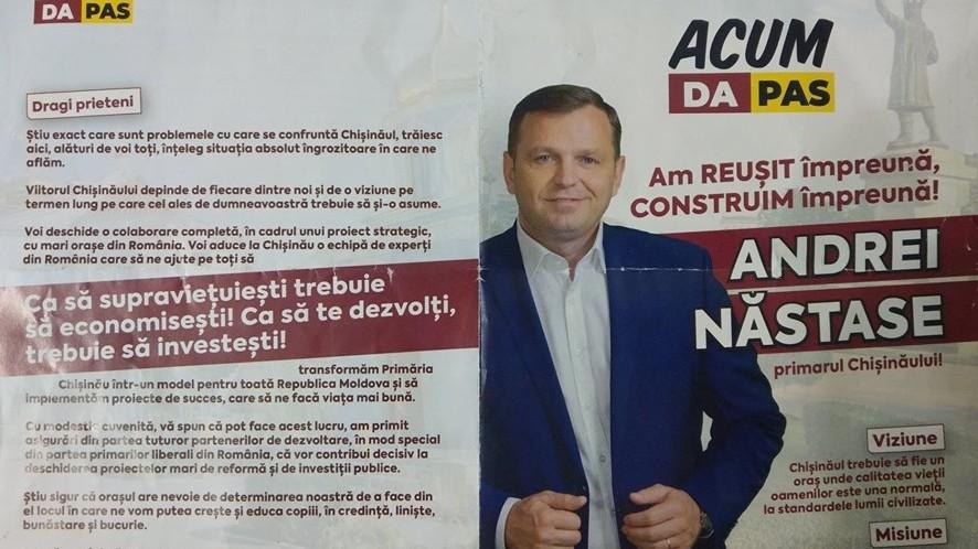 Andrei Năstase a încălcat legea electorală. Ce penalități i-a impus instanța de judecată
