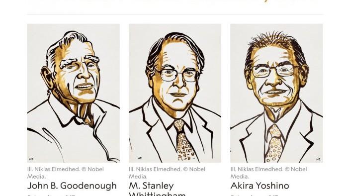"""Au fost desemnați câștigătorii Premiului Nobel pentru Chimie. Laureaţii din acest an au fost premiaţi pentru """"dezvoltarea bateriilor litiu-ion"""""""