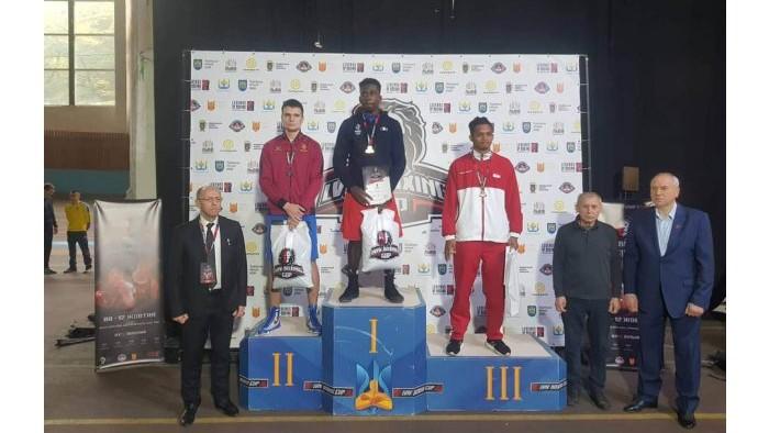 """Boxerul moldovean Vlad Gavriliuc a câștigat argintul la turneul internațional """"Lviv Boxing Cup"""""""
