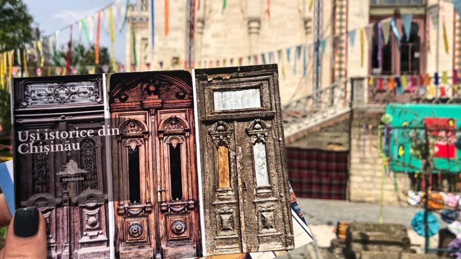 (foto) Hartă online care-ți permite să găsești ușile istorice de pe străzile Chișinăului