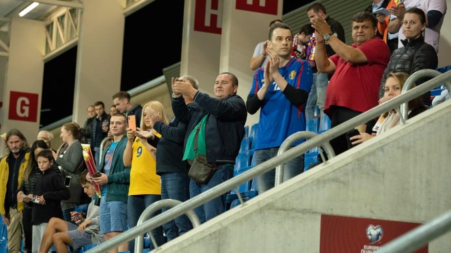 De Hramul Orașului susține Echipa Țării. Naționala Moldovei joacă astăzi împotriva echipei Albaniei pe stadionul Zimbru
