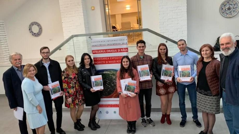 (foto) Lucrările studenților-arhitecți de la UTM au fost vernisate la Muzeul Național de Artă al Moldovei