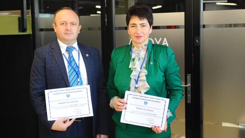 Trei profesori-savanți din Moldova au devenit membri de onoare ai Academiei de Științe Tehnice din România