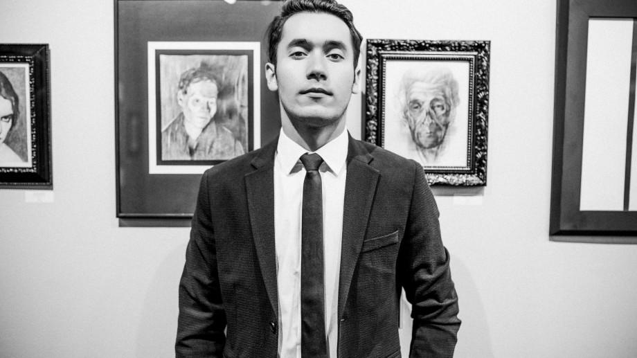 (foto) Tânărul artist din Moldova care și-a expus lucrările la New York, Hollywood, Los Angeles și Lisabona