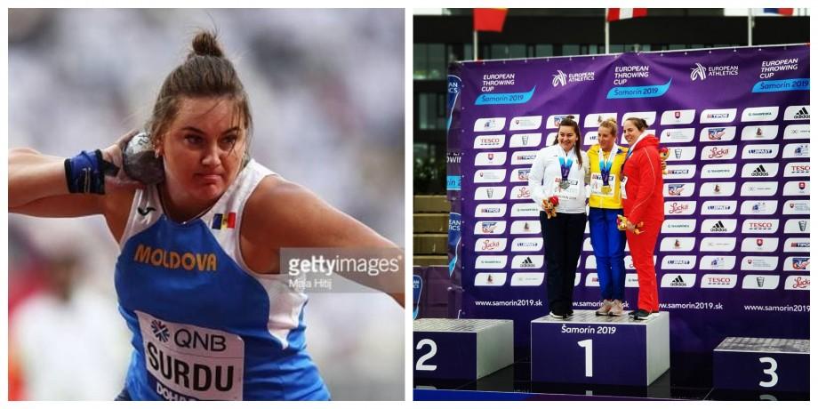 (video) #Sportul meu există. Dimitriana Surdu povestește cum a ajuns să practice aruncarea greutății și care sunt regulile acestui sport