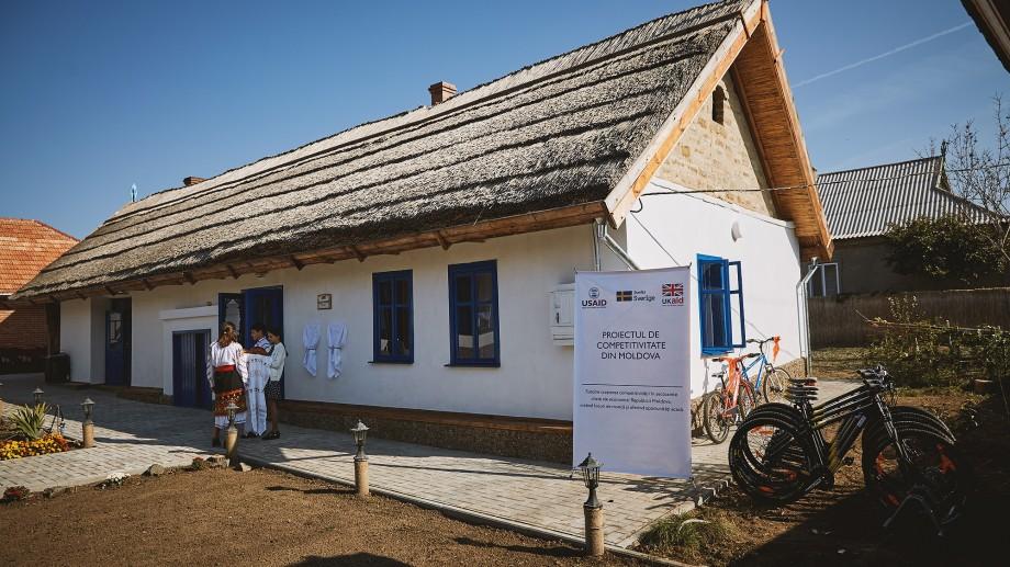 """(foto) O nouă destinație turistică la sudul țării. """"Casa Veche"""" este gata să primească oaspeți"""