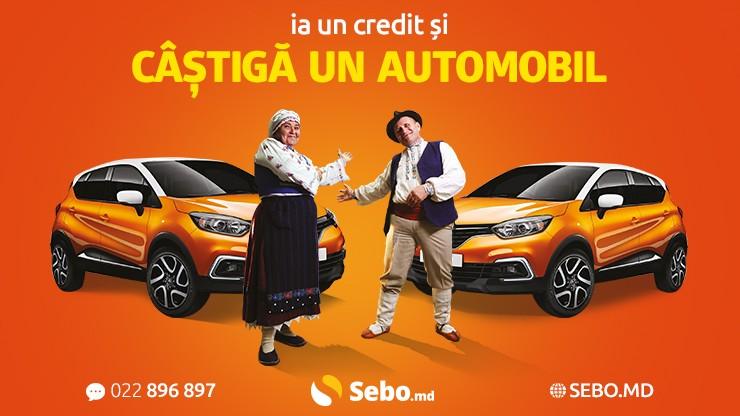 (video) Ia un credit și câștigă un automobil. Ia două credite și câștigă două automobile!