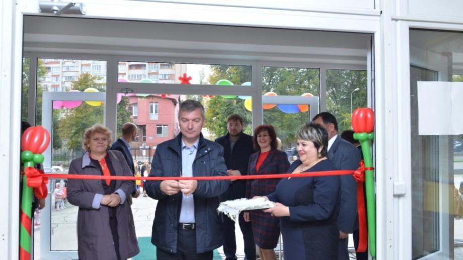 (foto) În Capitală s-a deschis o nouă grădiniță pentru copiii vorbitori de limbă rusă. Proiectul a costat 6,6 milioane de lei