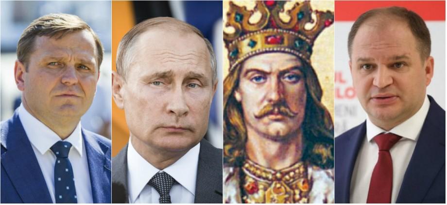 Cum Ion Ceban și Andrei Năstase au fost sancționați pentru folosirea imaginii lui Ștefan cel Mare, din cauza lui Vladimir Putin