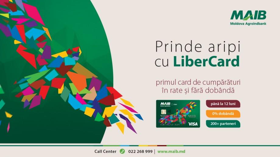 Simte libertatea să cumperi ce dorești şi când dorești cu LiberCard