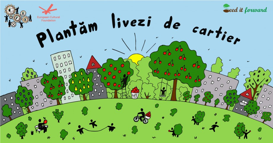 """În curțile Capitalei vor fi plantați arbori fructiferi. Cum te poți implica în campania """"Plantăm livezi de cartier"""""""
