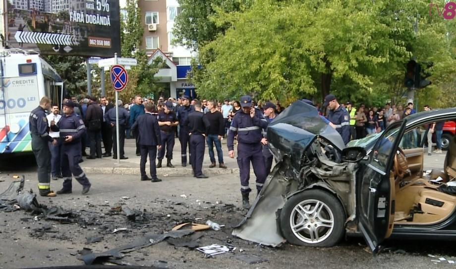 Șoferița care a provocat accidentul de la Buiucani a decedat astăzi dimineața