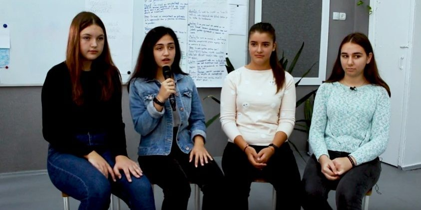 (video) Un grup de tineri din Mereni a obținut primul loc la un festival de book-trailere din România