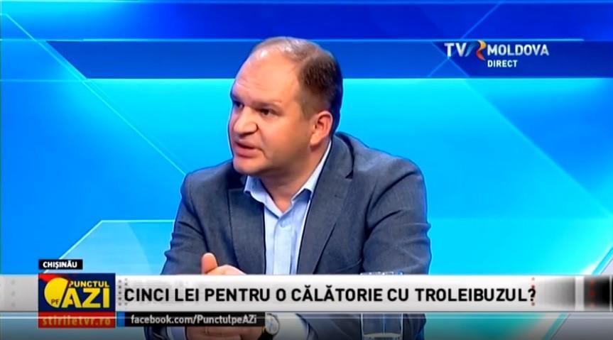 """Ceban despre majorarea prețului călătoriei în transportul public: """"Pentru a se întâmpla, trebuiesc trei lucruri principiale"""""""
