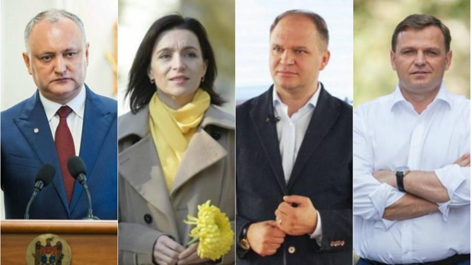 Cine a câștigat în localitățile de baștină ale politicienilor Năstase, Ceban, Dodon și Sandu