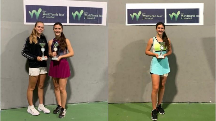 Jucătoarea moldoveancă de tenis Renata Fărîmă a devenit vicecampioană la J5 Istanbul 2019