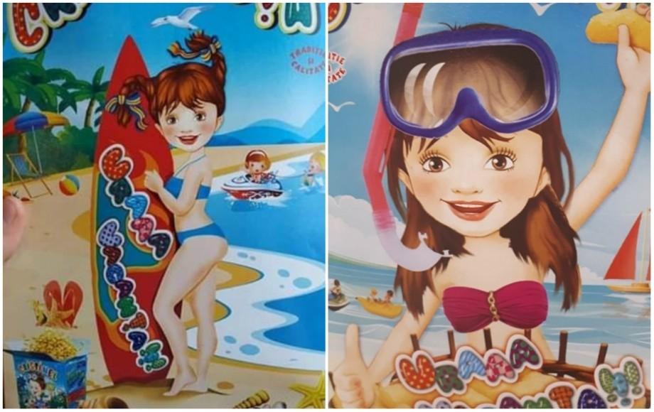 """Brandul """"Cristinuța"""", obligat să scoată din vânzare pufuleții cu ambalaj în care promovează sexualizarea precoce a fetelor"""