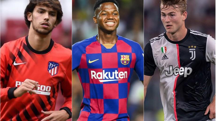 Ansu Fati, Matthijs de Ligt sau João Félix. Cine sunt cei 20 de jucători nominalizați pentru titlu de cel mai bun jucător U21