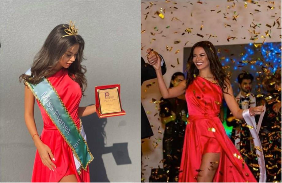 (foto) Are 26 de ani și a absolvit facultatea de matematică. O româncă a câștigat titlul Miss Planet