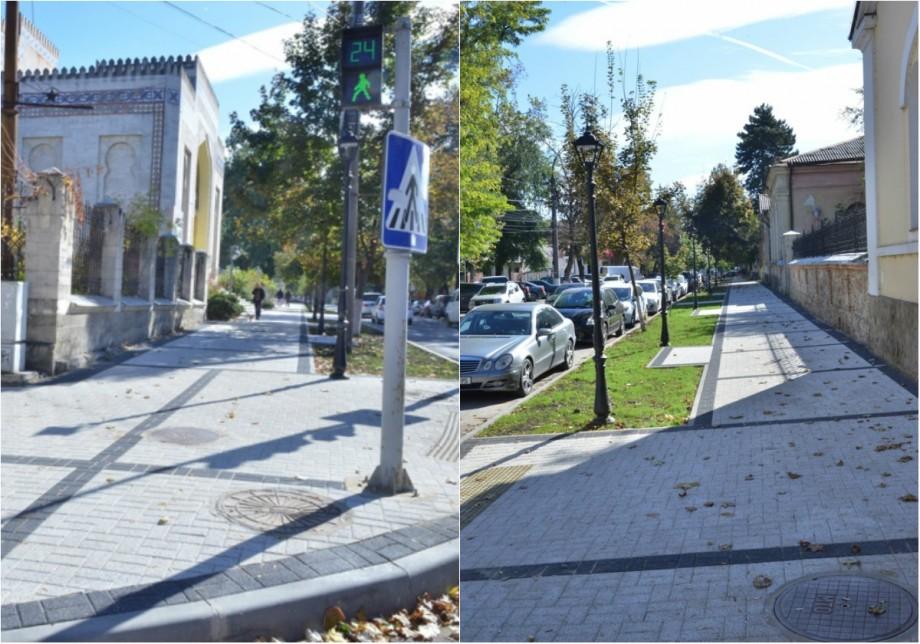 (foto) O nouă zonă pietonală din Capitală a fost renovată. Unde se află aceasta
