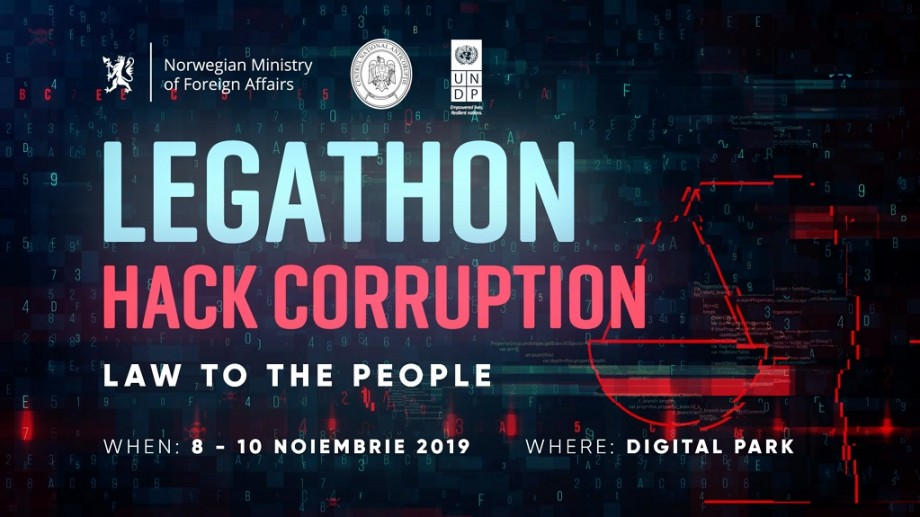 "S-a dat startul înscrierii la ""LEGATHON: Hack Corruption. Law to the People"" – un eveniment pentru tinerii pasionaţi de IT"