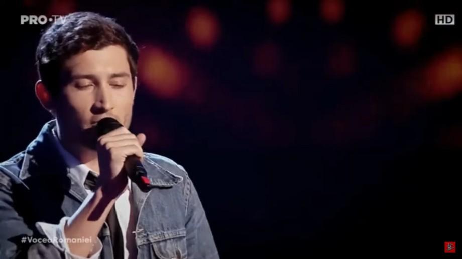 (video) Un moldovean l-a impresionat pe Smiley la Vocea României. Ce piesă a interpretat