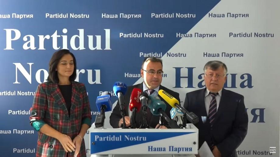 """Partidul Nostru învinuiește PSRM de netransparență financiară. """"Pentru billboardurile din Chișinău ei ai cheltuit 37 000 de lei"""""""