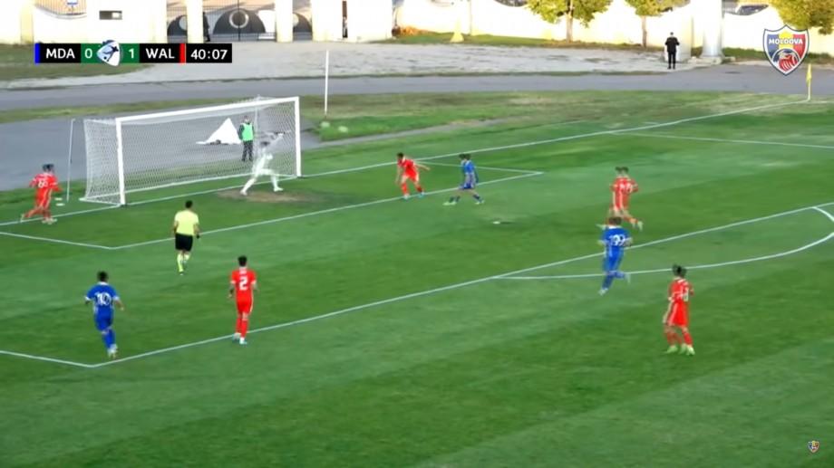 (video) Naționala de tineret a Moldovei a învins Țara Galilor U-21 în preliminariile Campionatului European