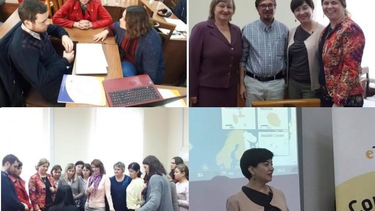 25 de profesori, înregistrați recent pe platforma eTwinning, au participat la un seminar de dezvoltare profesională