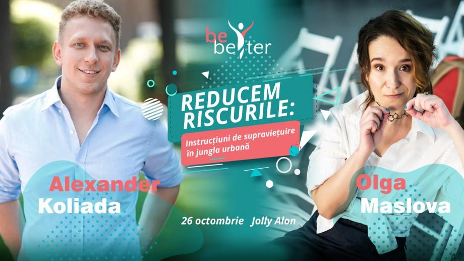 Află secretele geneticii și ale longevității cu Alexander Koliada și Olga Maslova! Nu rata seminarul BeBetter din 26 octombrie