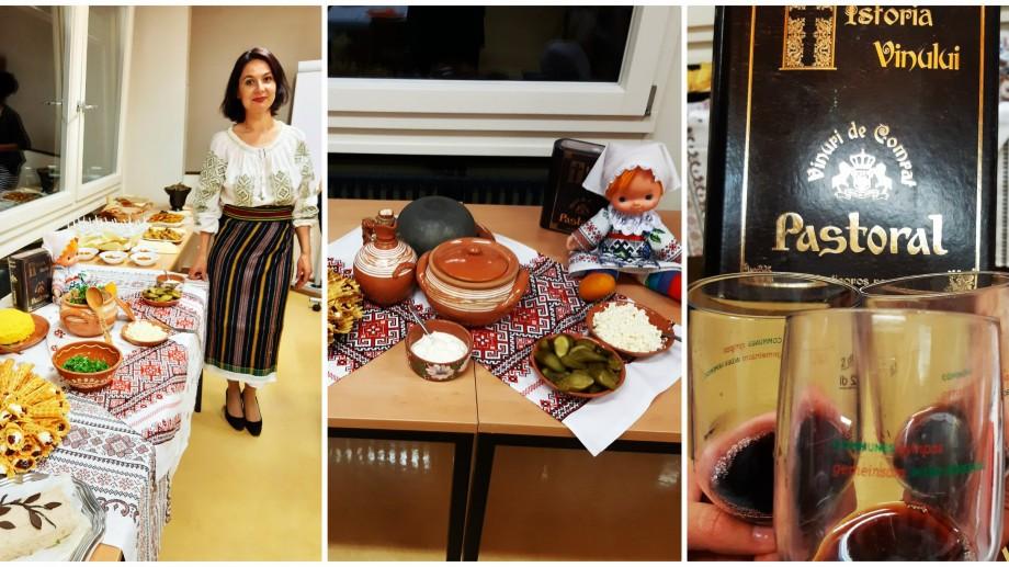 """(foto) Cum au ajuns mămăliga, vinul roșu de casă și dansul """"Băsmăluța"""" în Elveția"""