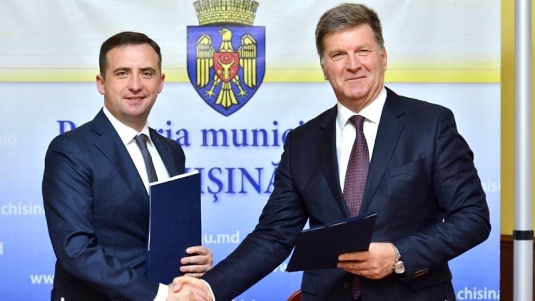 (foto) Pretura sectorului Buiucani și Sectorul de Est al orașului Riga au semnat un acord de colaborare