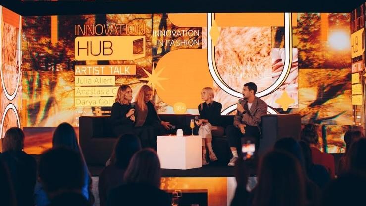 """(foto) Seria de evenimente """"Innovation HUB"""" a debutat cu stil! Află cum arată viitorul modei de la designeri autohtoni de top"""