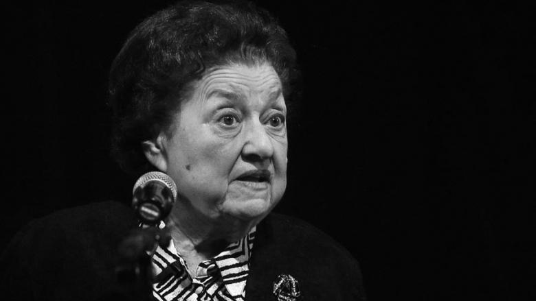 """A decedat actrița Tamara Buciuceanu Botez, cunoscută pentru rolul lui Isoscel din """"Liceenii"""""""