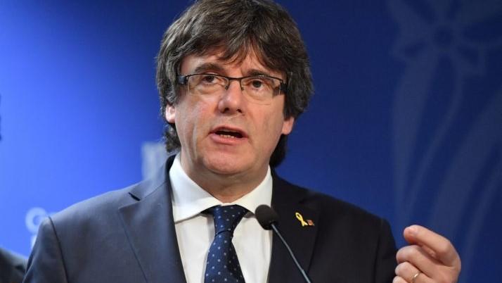 Belgia a primit un al treilea mandat de arestare european pe numele fostului lider catalan