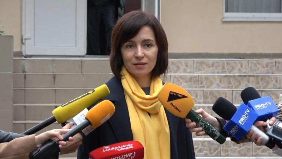 """Maia Sandu le-a mulțumit cetățenilor pentru voturile acordate blocului ACUM: """"De această dată, oamenii nu au venit siliți la vot"""""""