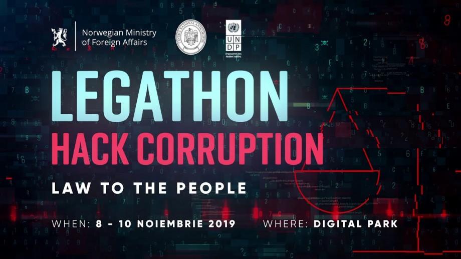 Mai ai patru zile pentru a te înregistra la LEGATHON: Hack Corruption. Law to the People